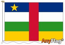 - CENTRAL AFRICAN REPUBLIC ANYFLAG RANGE - VARIOUS SIZES